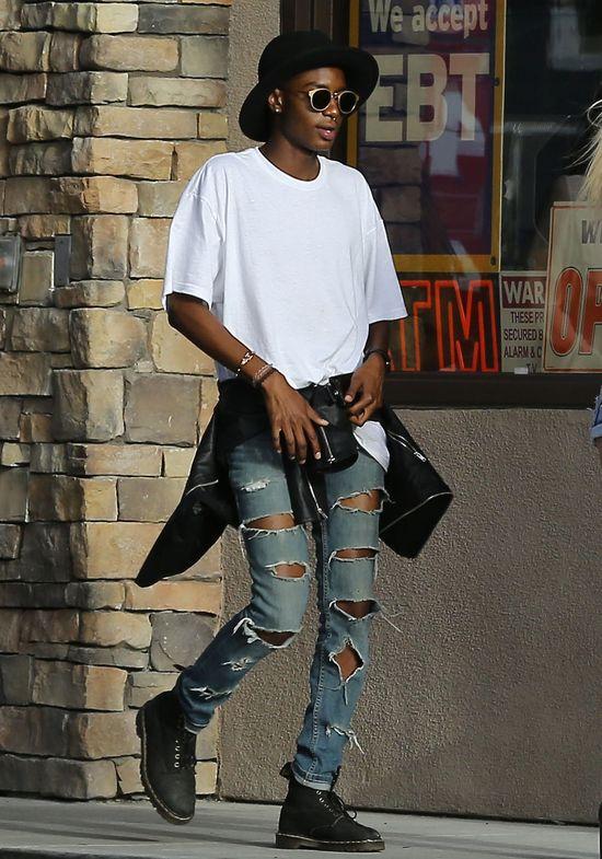Kylie Jenner i jej niebieskowłosy chłopak (FOTO)