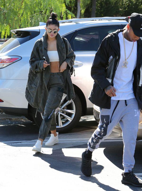 Nawet Kylie Jenner od czasu do czasu potrafi być naturalna
