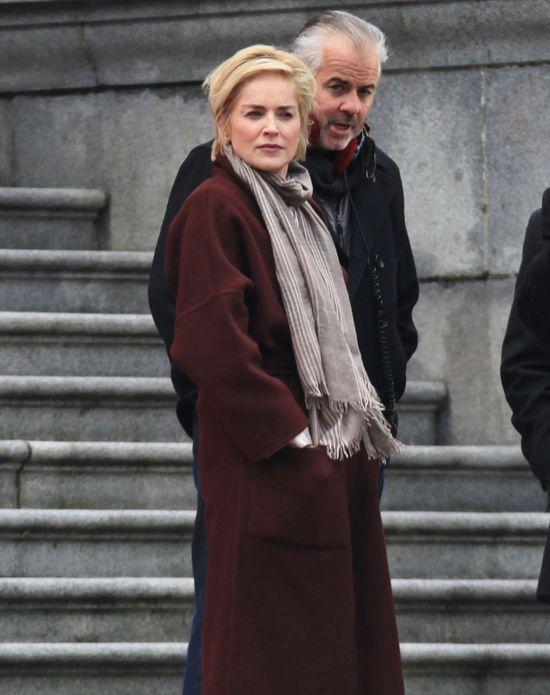 Sharon Stone na żywo w nowej fryzurze (FOTO)