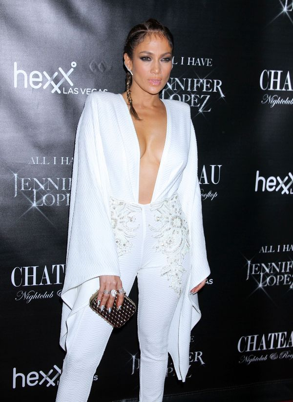 Jennifer Lopez zmokła w drodze na imprezę? (FOTO)