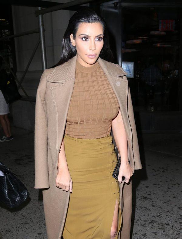 Kim Kardashian przebiera się nawet po kilka razy dziennie
