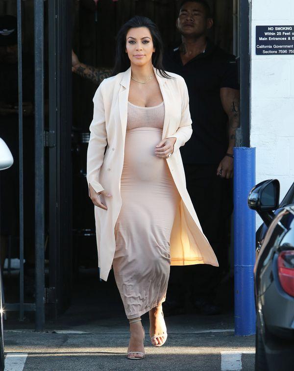 Kim Kardashian postanowiła nie przytyć w drugiej ciąży