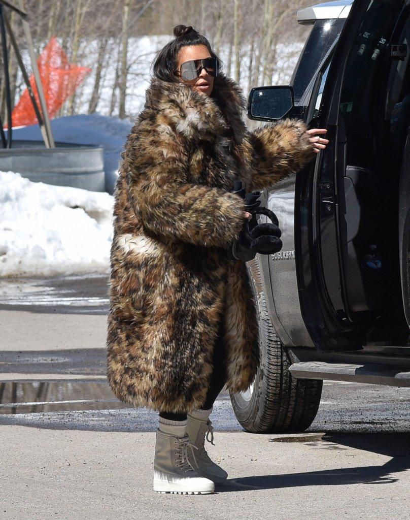 Afera! Kim Kardashian otwarcie przyznaje, że kocha naturalne futra