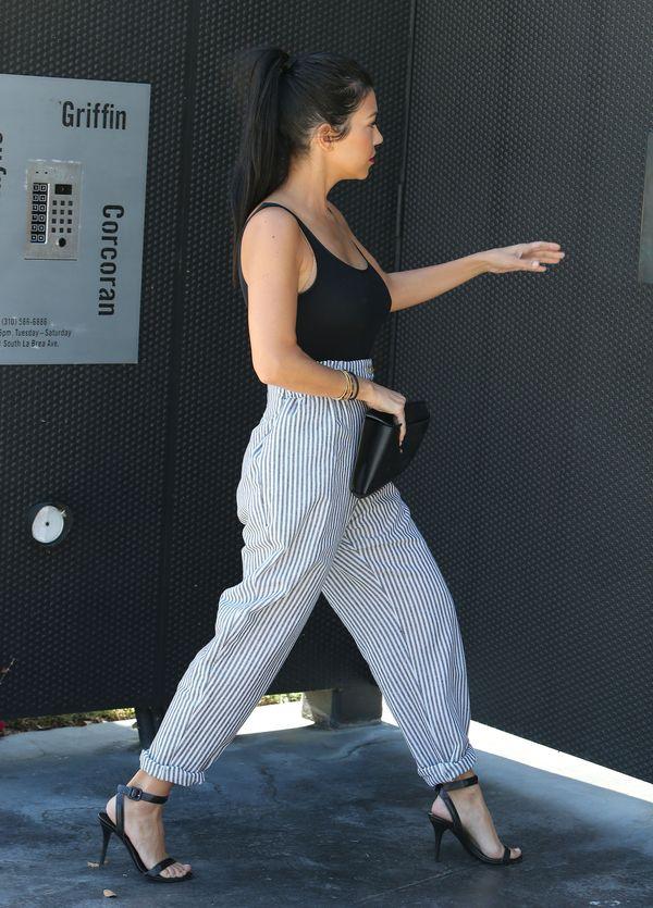Kourtney Kardashian jeszcze nigdy nie wyglądała tak seksi