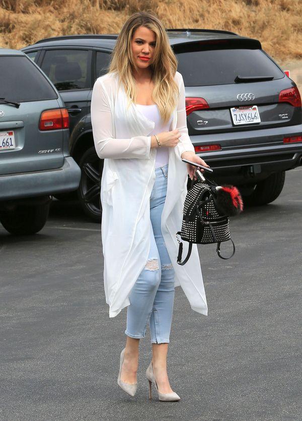 Rewia mody, czyli siostry Kardashian (prawie) w komplecie