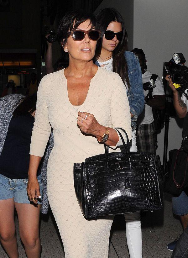 Kardashianki na lotnisku, czyli rewia mody (FOTO)