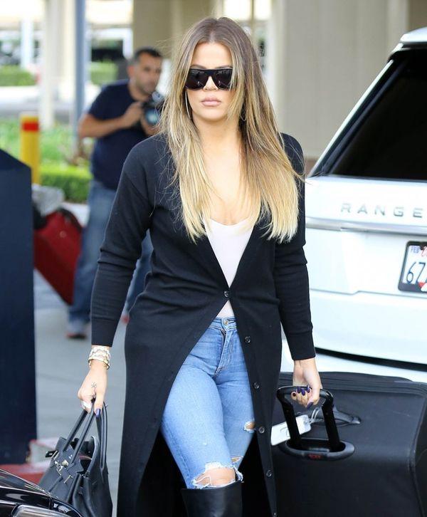 Khloe Kardashian znowu została blondynką! (FOTO)