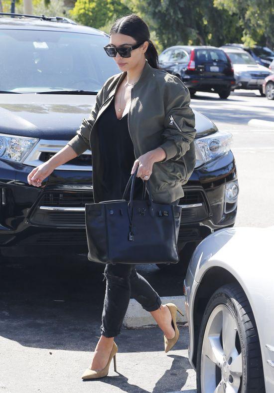 Czy Kim Kardashian znowu przytyła?! (FOTO)