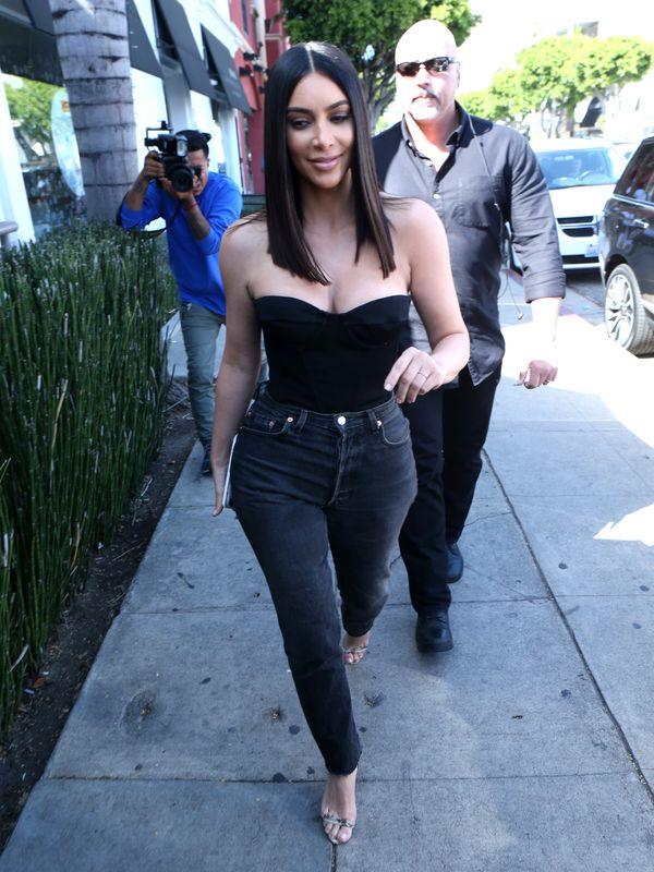 Wow! Jeszcze nie widziałyście Kim Kardashian w TAKIEJ fryzurze! (FOTO)