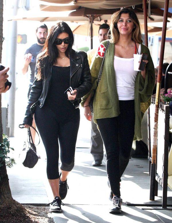 Kim Kardashian nie zawsze w wersji glam (FOTO)