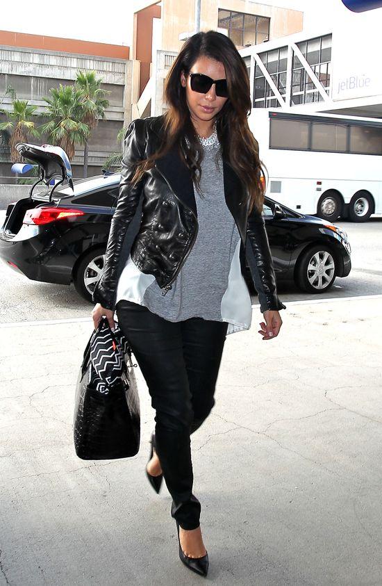 Kim Kardashian w ramonesce (FOTO)