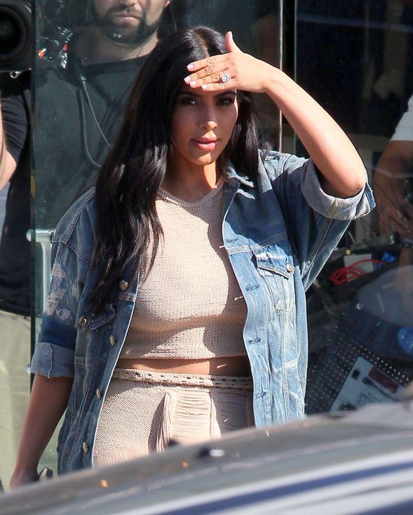 Nie uwierzycie, jakie buty miała Kim na Glastonbury Festival