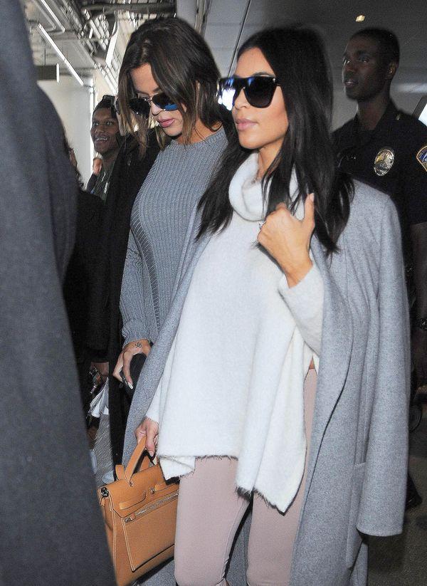 Kim i Khloe w codziennych stylizacjach (FOTO)