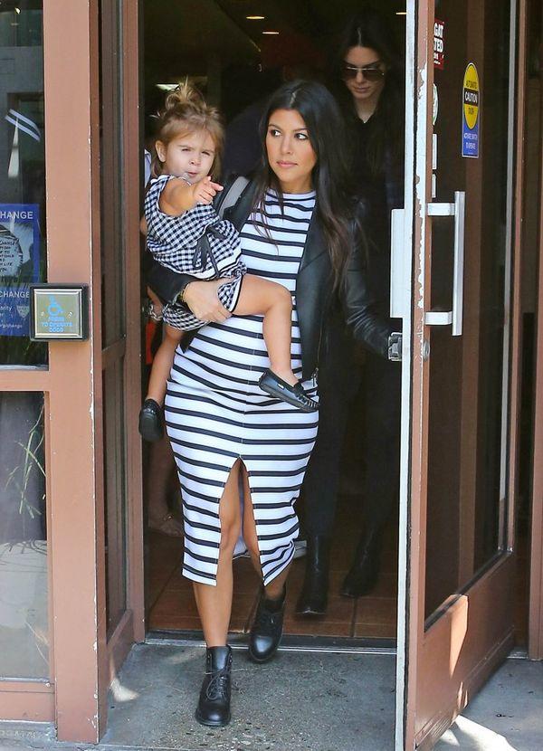 Córka Kourtney Kardashian ma więcej butów niż Ty! (FOTO)