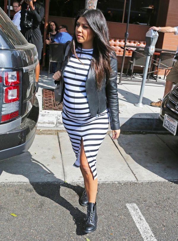 Wyjściowa Kourtney Kardashian VS zaskoczone Jennerki (FOTO)