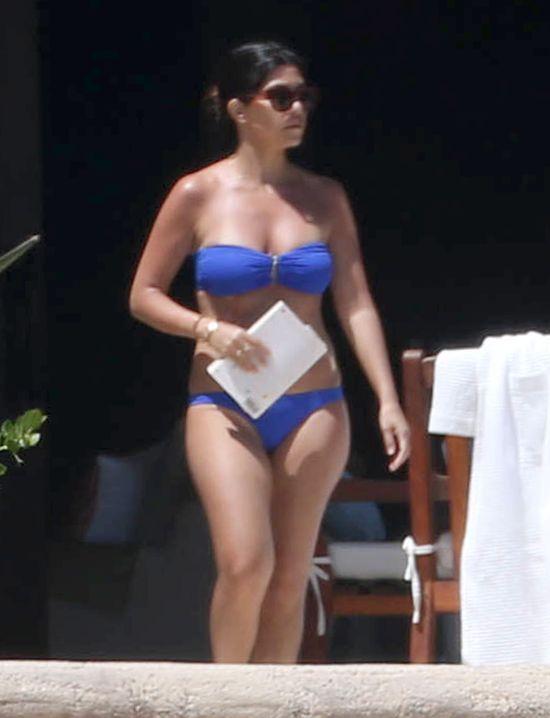 Kourtney Kardashian przyłapana w bikini! (FOTO)