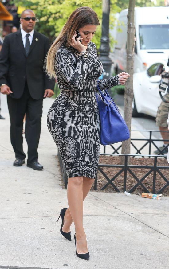 Khloe Kardashian i jej niebieska Birkin (FOTO)