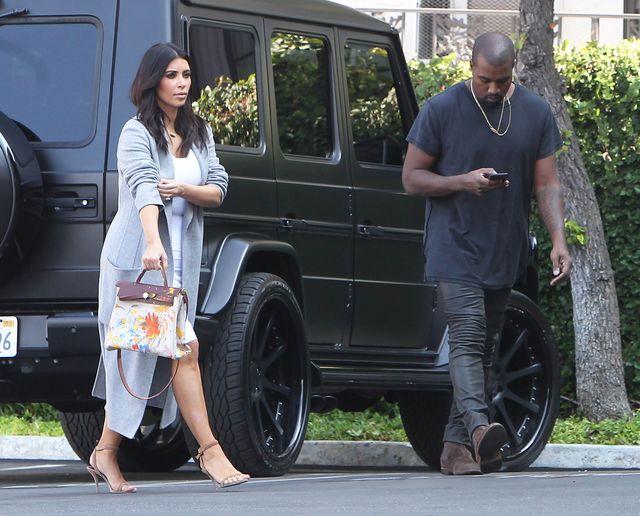 Kim Kardashian pokazała Birkin, którą pomalowała North!