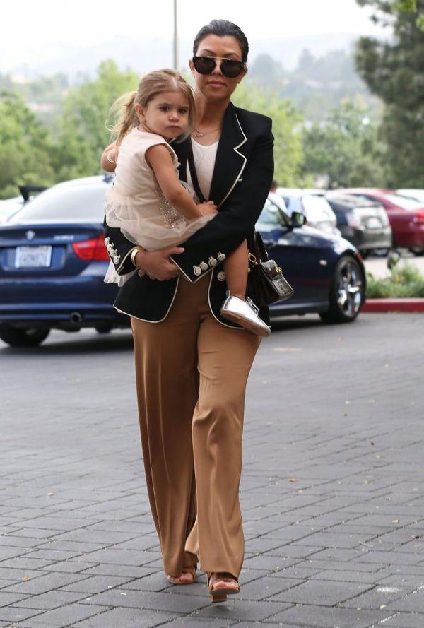 Piękna Kourtney Kardashian w sesji dla Harper's Baazar