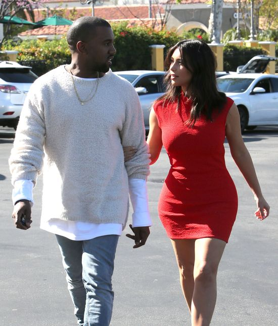 Kim Kardashian - dama w czerwieni (FOTO)