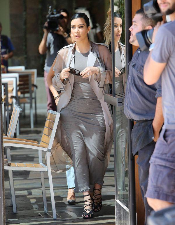 Kim Kardashian testuje nową fryzurę (FOTO)
