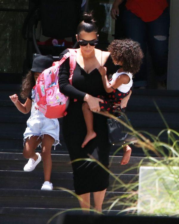 Kim Kardashian w końcu wyszła z domu, ale... nie zachwyciła