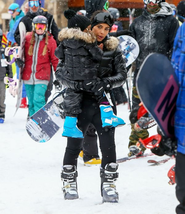 Rodzina Kardashianów i wielki lans na stoku narciarskim