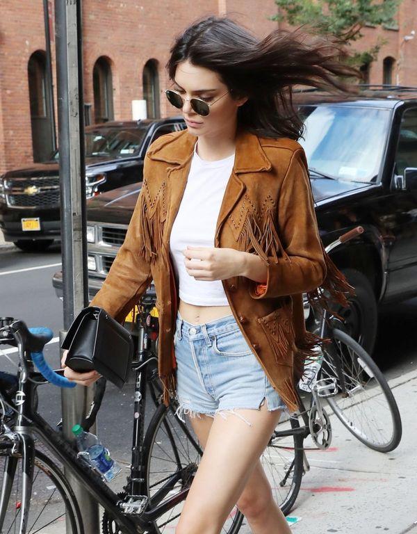 Kendall Jenner to chodząca reklama stylu boho! (FOTO)