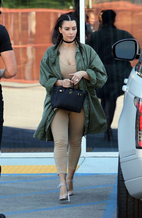 Kim Kardashian i North West - zgrany modowy duet? (FOTO)