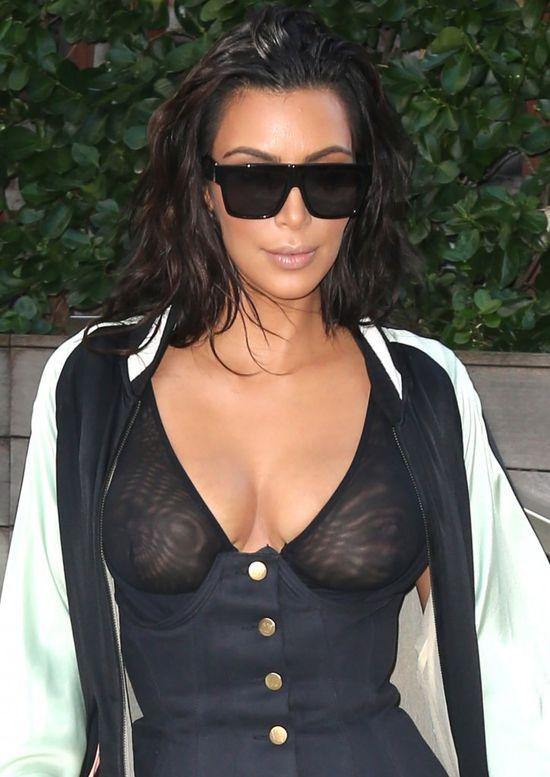 Ta stylizacja Kim Kardashian rozbawi Was do łez (FOTO)