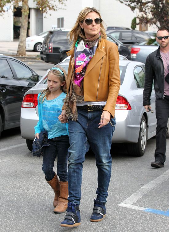 Heidi Klum - modna mama (FOTO)