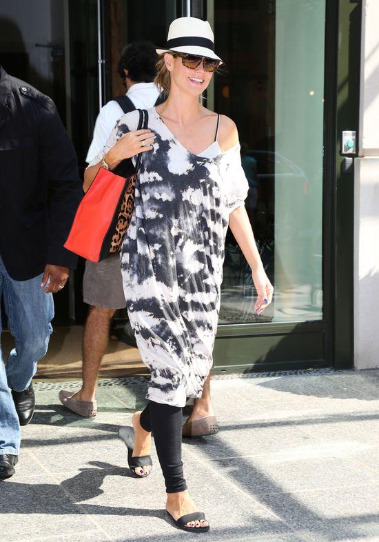 Dwie stylizacje Heidi Klum (FOTO)