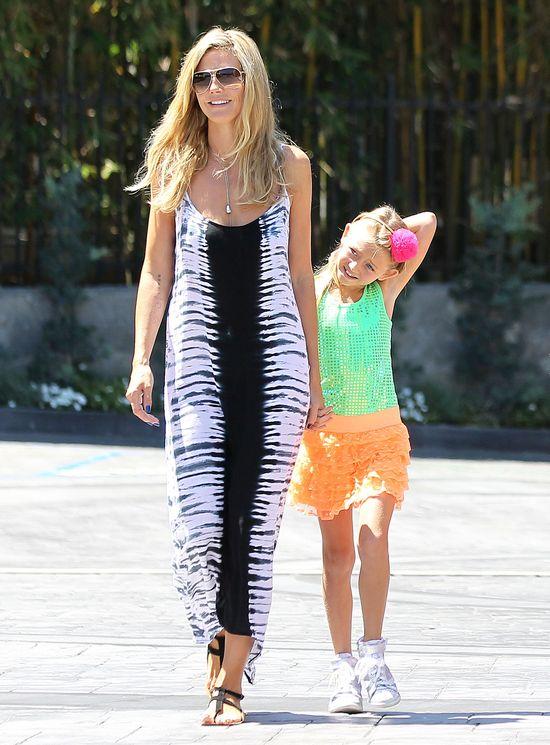 Heidi Klum w sukience maxi (FOTO)