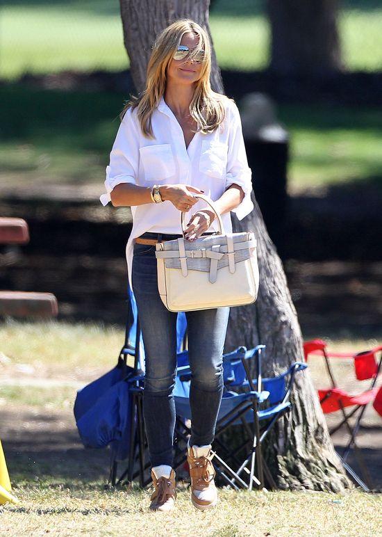Heidi Klum w sneakersach (FOTO)