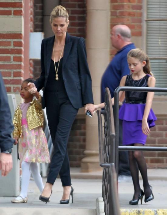 10-letnia córka Heidi Klum nosi WYSOKIE obcasy