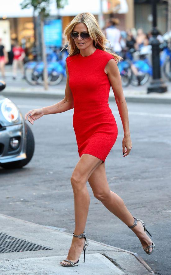 Heidi Klum w takiej samej sukience, jak Kim Kardashian!