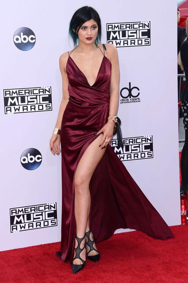 Team Kardashian-Jenner na gali 2014 American Music Awards