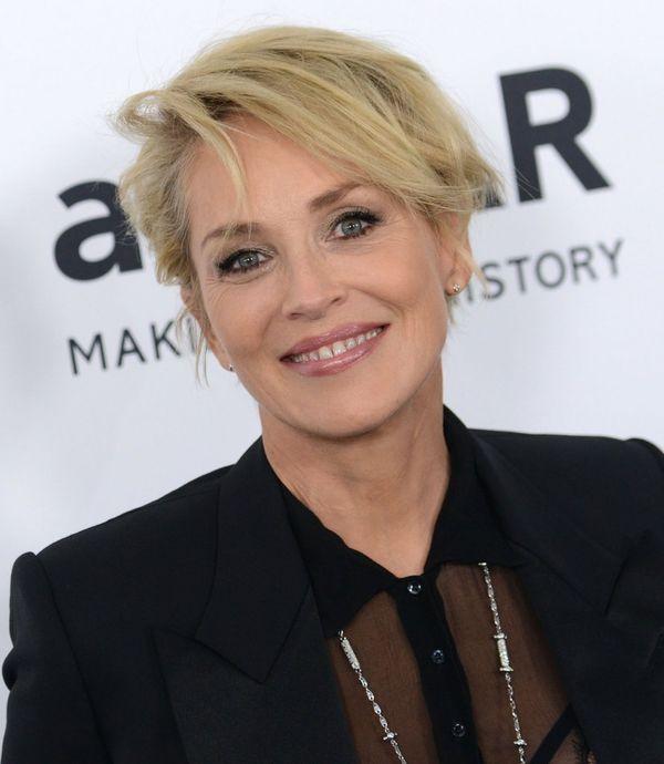 MUSICIE zobaczyć Sharon Stone bez makijażu (FOTO)