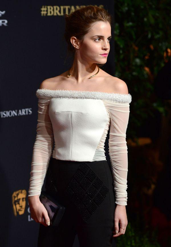 Emma Watson błyszczała jak diament na czerwonym dywanie?