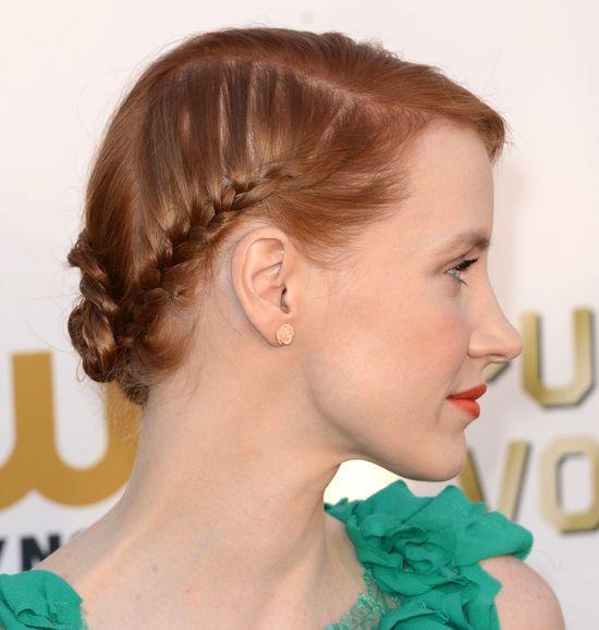 Dziewczęca fryzura Jessiki Chastain (FOTO)