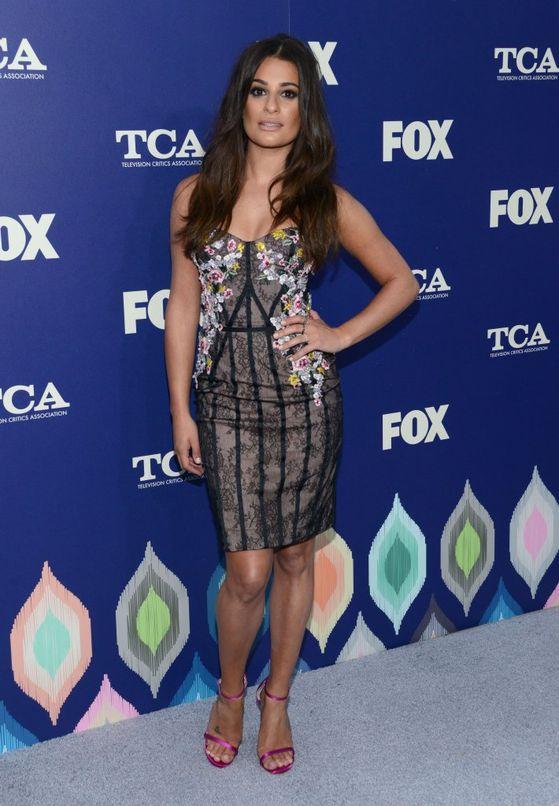 Lea Michele zachwyciła w sukience Marchesa (FOTO)