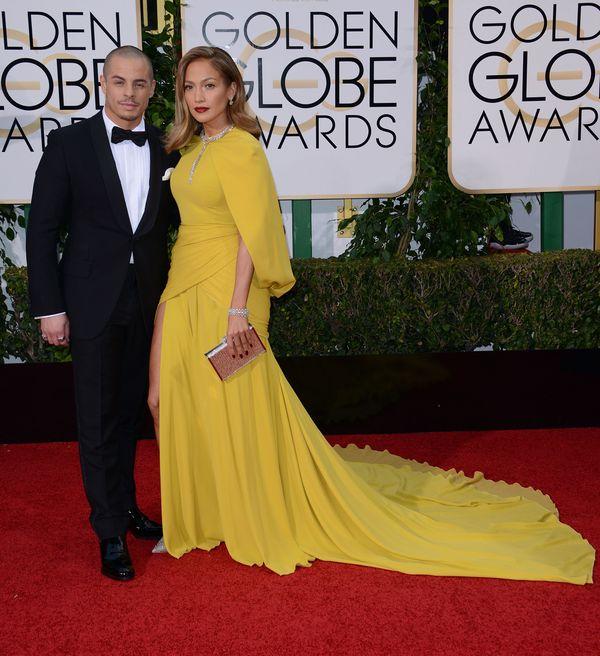 Jennifer Lopez królową czerwonego dywanu na Złotych Globach?