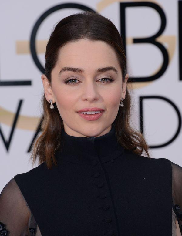 Gwiazda Gry o Tron, Emilia Clarke, na Złotych Globach (FOTO)