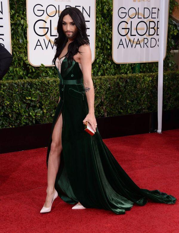 Conchita Wurst zachwycił na rozdaniu Złotych Globów?