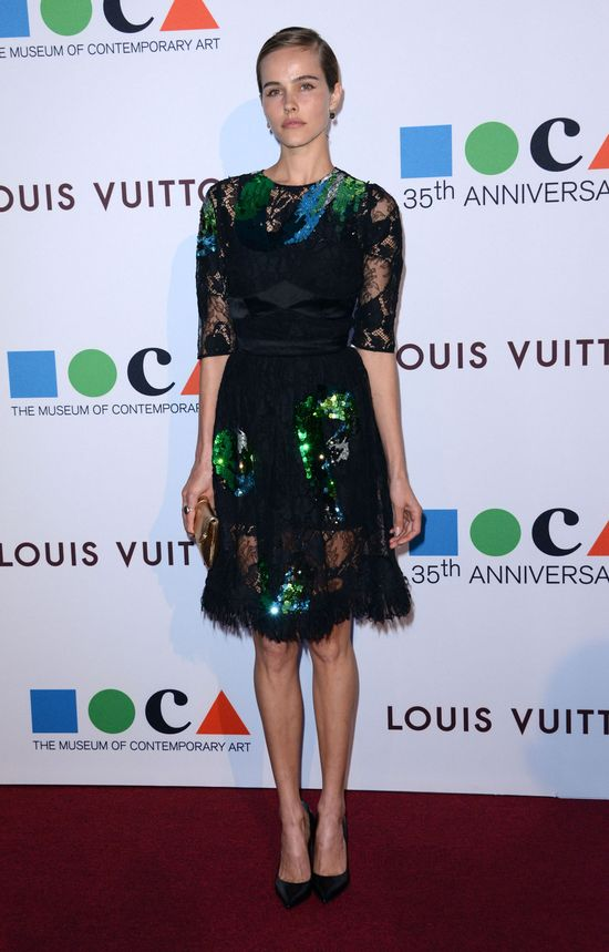 Kreacje gwiazd na gali MOCA by Louis Vuitton (FOTO)