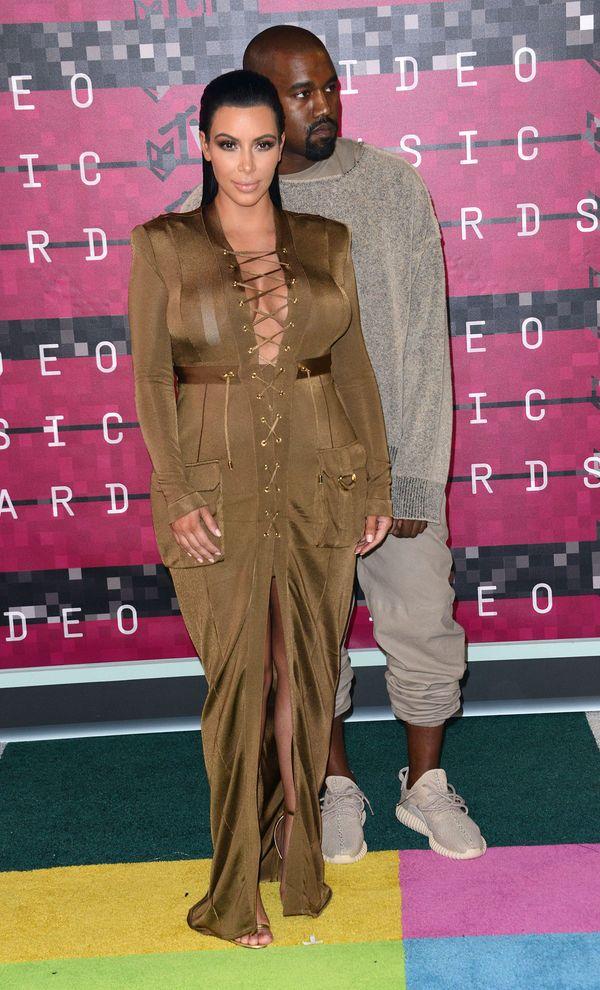Kim Kardashian (NIE) zachwyciła na gali MTV VMA 2015