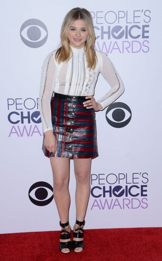 Kreacje gwiazd na People's Choice Awards (FOTO)