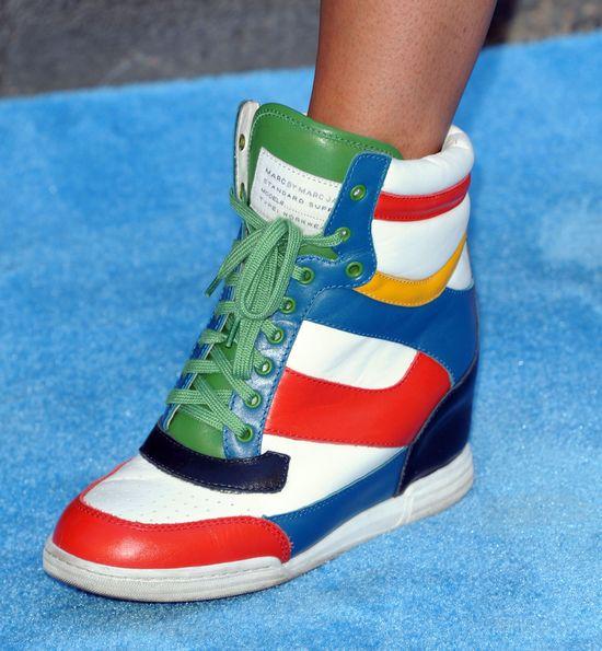 Jordin Sparks w sneakersach na czerwonym dywanie (FOTO)
