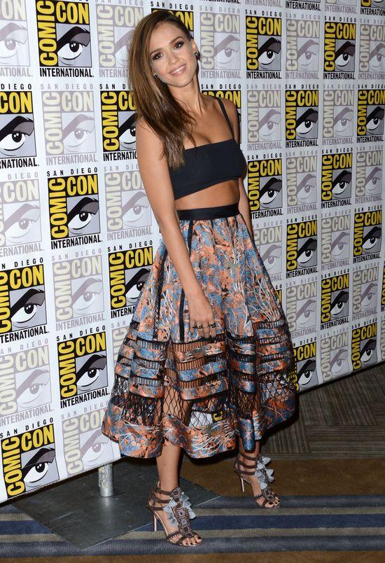 Jessica Alba i Rosario Dawson na Comic Con 2014 (FOTO)