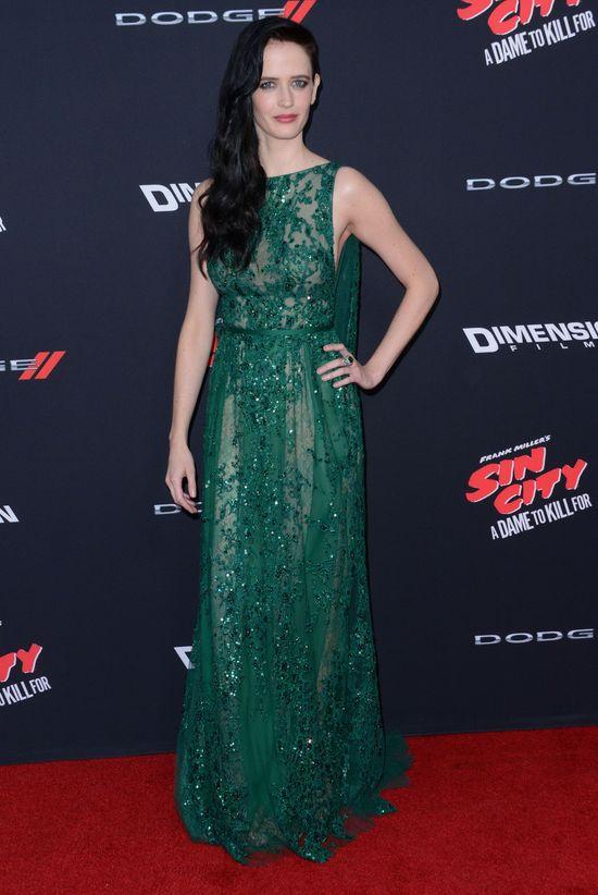 Gwiazdy błyszczały na premierze Sin City: A Dame To Kill For
